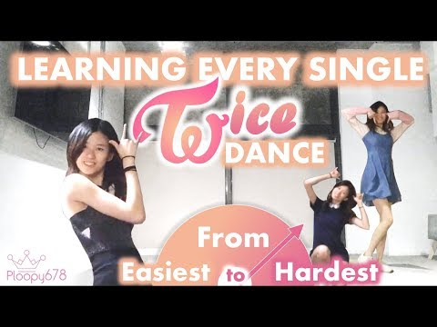I Learned Every Twice Dance - from Easiest to Hardest (KPOP KOUNTDOWN #2)