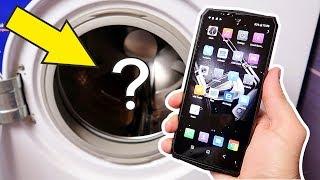 Что если бросить самый защищенный смартфон в Стиральную Машину? blackview bv9100 alex boyko