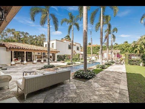 Breathtaking $12 Million 9,000 SQ FT Mediterranean Home in Palm Beach Florida USA
