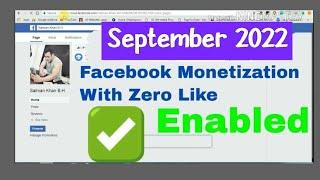 Facebook Monetization New Method ! No Need Of 2000 Likes Very Easy