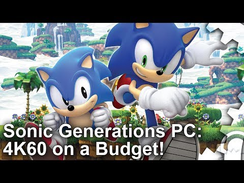 [4K] Sonic Generations PC Retro: Better Than Forces, 4K60 on GTX 970!