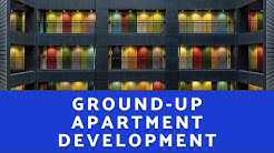 Modeling a Ground Up Apartment Development - A.CRE Apartment Development Model