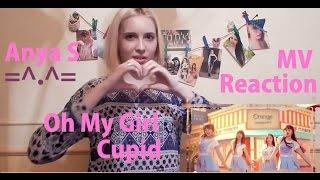 Video MV Reaction | Oh My Girl - Cupid =^.^= | Anya S download MP3, 3GP, MP4, WEBM, AVI, FLV Juni 2018
