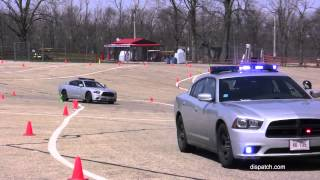 Officers hone emergency driving skills