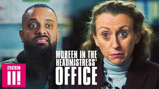 Getting Called Into The Headmistress' Office At 30 | Man Like Mobeen On iPlayer Now