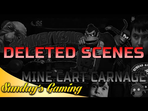 Donkey Kong Country: Mine Cart Carnage | Deleted Scenes