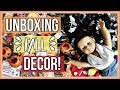 UNBOXING FALL DECOR!   Unboxing my American Girl Doll Fall & Halloween Decorations 2017