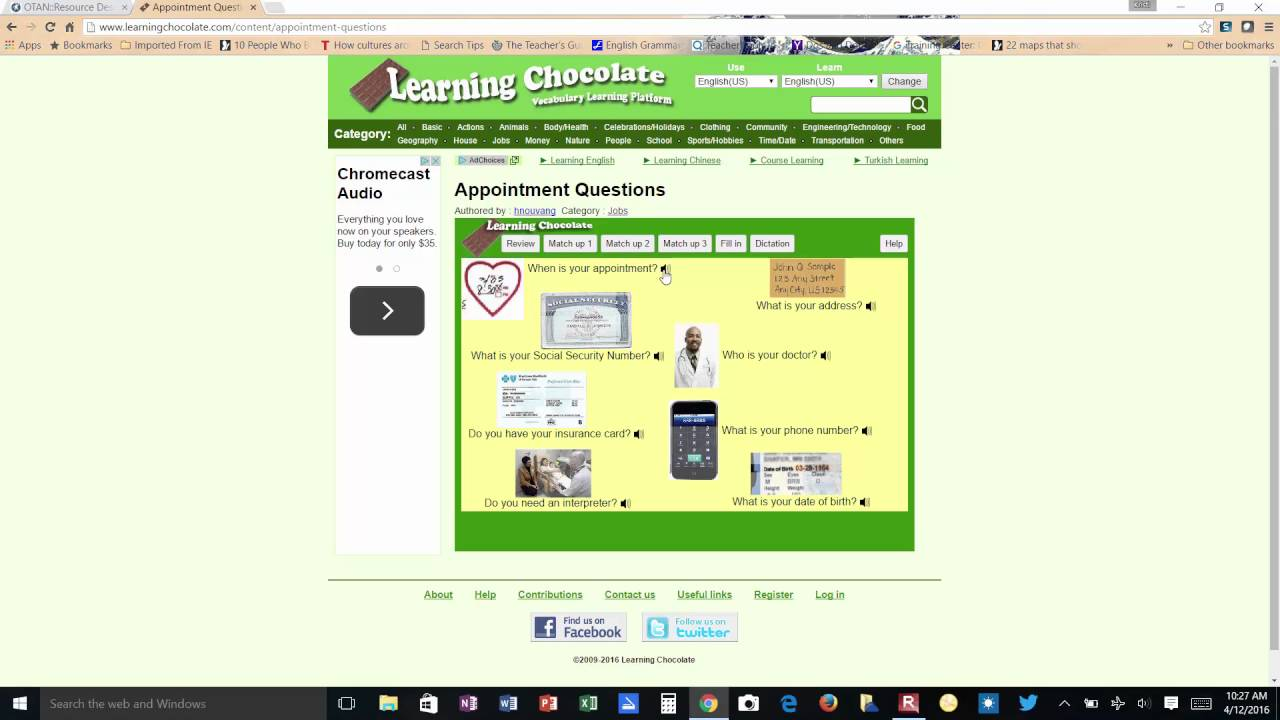 OTAN's Teaching with Technology: Learning Chocolate by Kristi ...