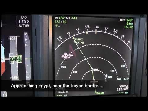 Flight to Jeddah