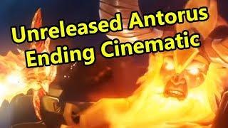 Unreleased Legion Antorus Ending Cinematic (WoW Machinima)