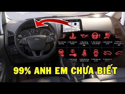 Giải mã những đèn báo/ký hiệu trên bảng điều khiển xe ô tô - 99% anh em chưa biết hết