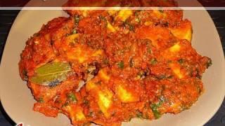 Paneer Tikka Masala (Marinated Indian Cheese) by Manjula