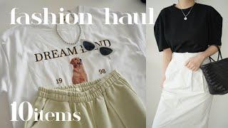 여름 필수템 티셔츠 ✨ 패션하울 & 룩북 (자라…
