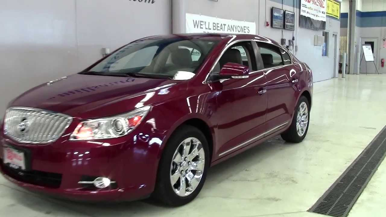 2011 buick lacrosse sdn fwd cxl 4b130033a youtube. Black Bedroom Furniture Sets. Home Design Ideas