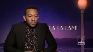 JOHN LEGEND interview for LALA LAND
