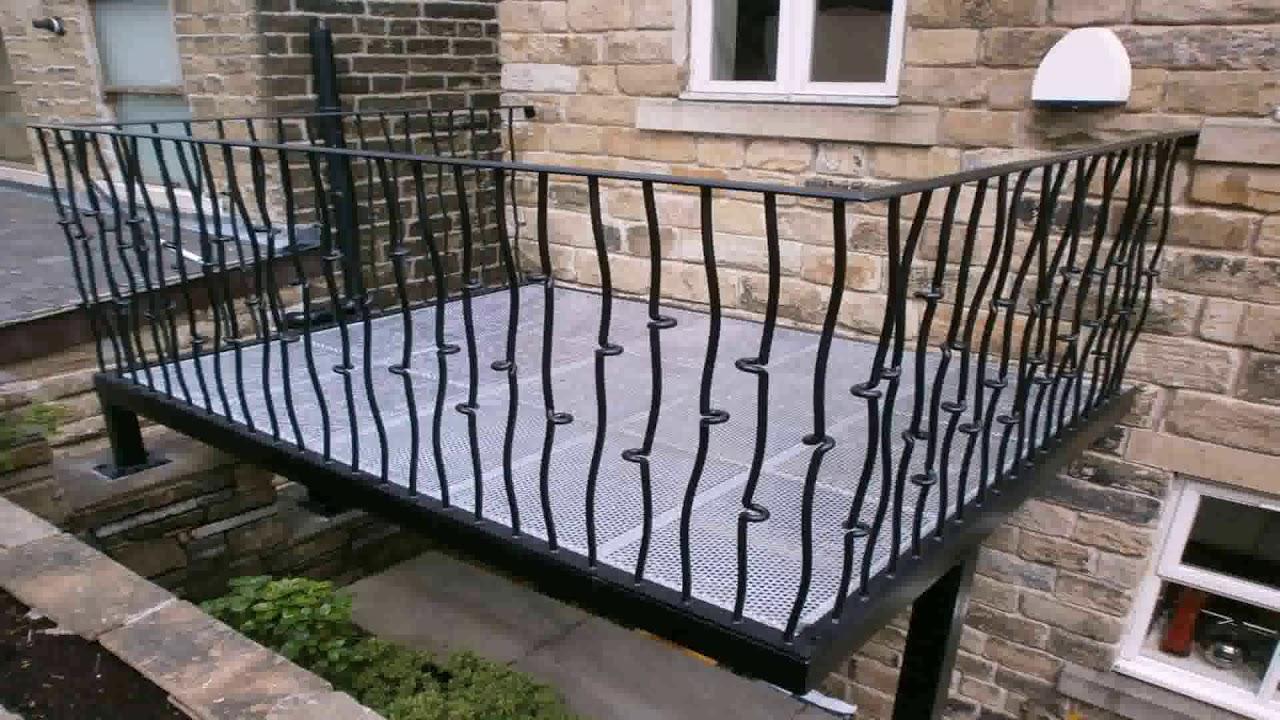 Iron Railing Design For Balcony Youtube
