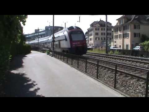 Wadenswil - Switzerland - National Rail SBB CFF - YouTube