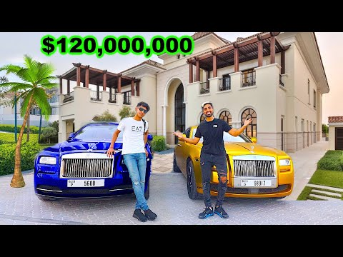 Meet Dubai's RICHEST Kid , $120 Million Mansion (18 years old)