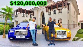 Meet Dubai's RICHEST Kid , $120 Million Mansion (18 years old)