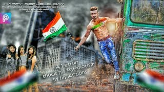 PicsArt Republic Day Patriotism Editing || Picsart Manipulation Best Editing || picsart new Editing