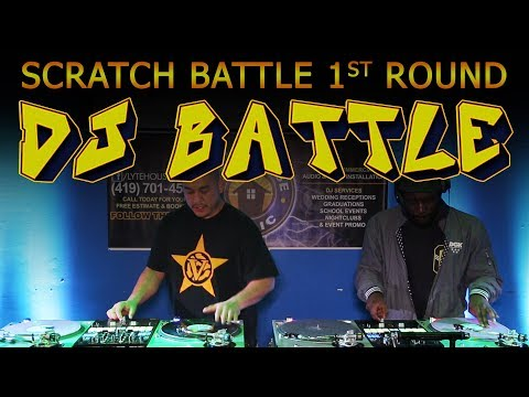 DJ SCRATCH BATTLE (Preliminary Round) 2019 Glass City Mix Masters