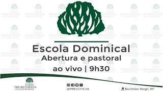 Escola Dominical ao vivo - 28-06-2020