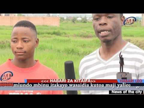 MJTV News Of The City ILAZO DODOMA