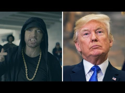 Download Youtube: Eminem BET Cypher Trump Diss