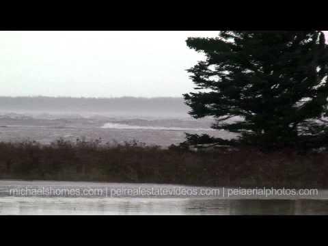Prince Edward Island Storm Surge Brutal Weather Atlantic Canada PEI East Cost