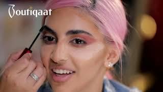 Makeup Tutorial by Rosa on Shouq |Boutiqaat - ميكب توتوريال روزا على شوق