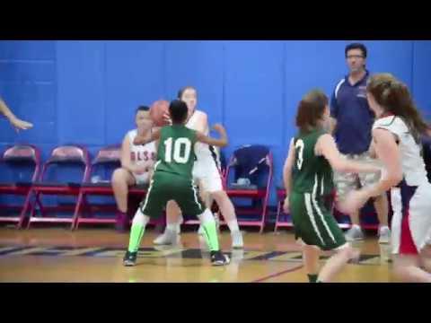 olssbasketball St. Patricks Girls Basketball Team take on OLSS highlights - YouTube