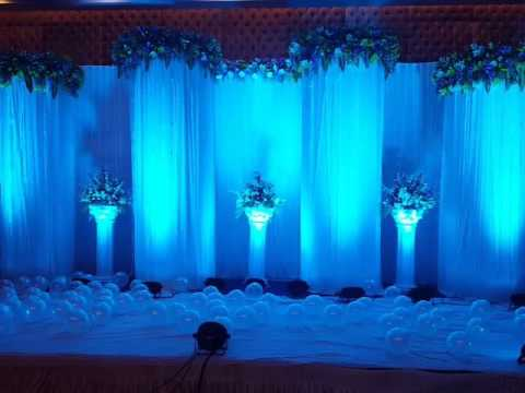 60th Birthday Party Decoration in Diamond Hall N Convention Call Us