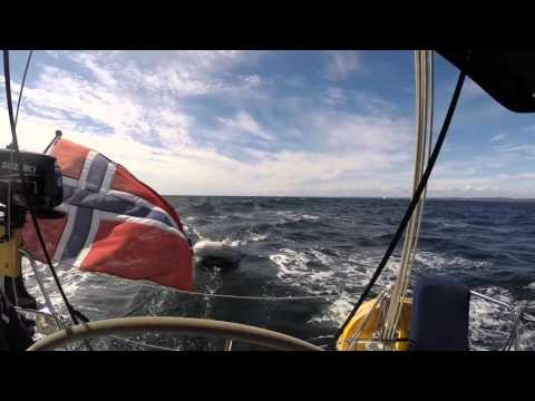 Bavaria 38 Crusier  - Norwegian sea
