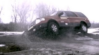 2007 Ford Expedition | Dynamic Rollover Test by NHTSA | CrashNet1