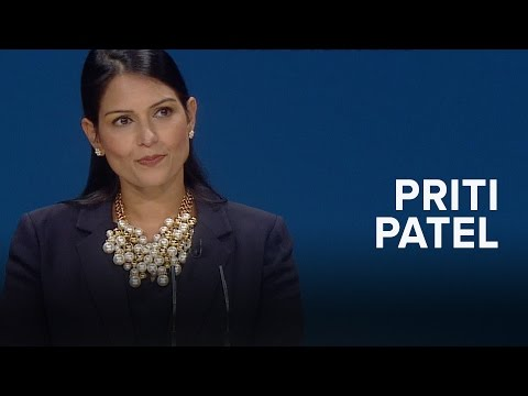 Priti Patel: Speech to Conservative Party Conference 2016