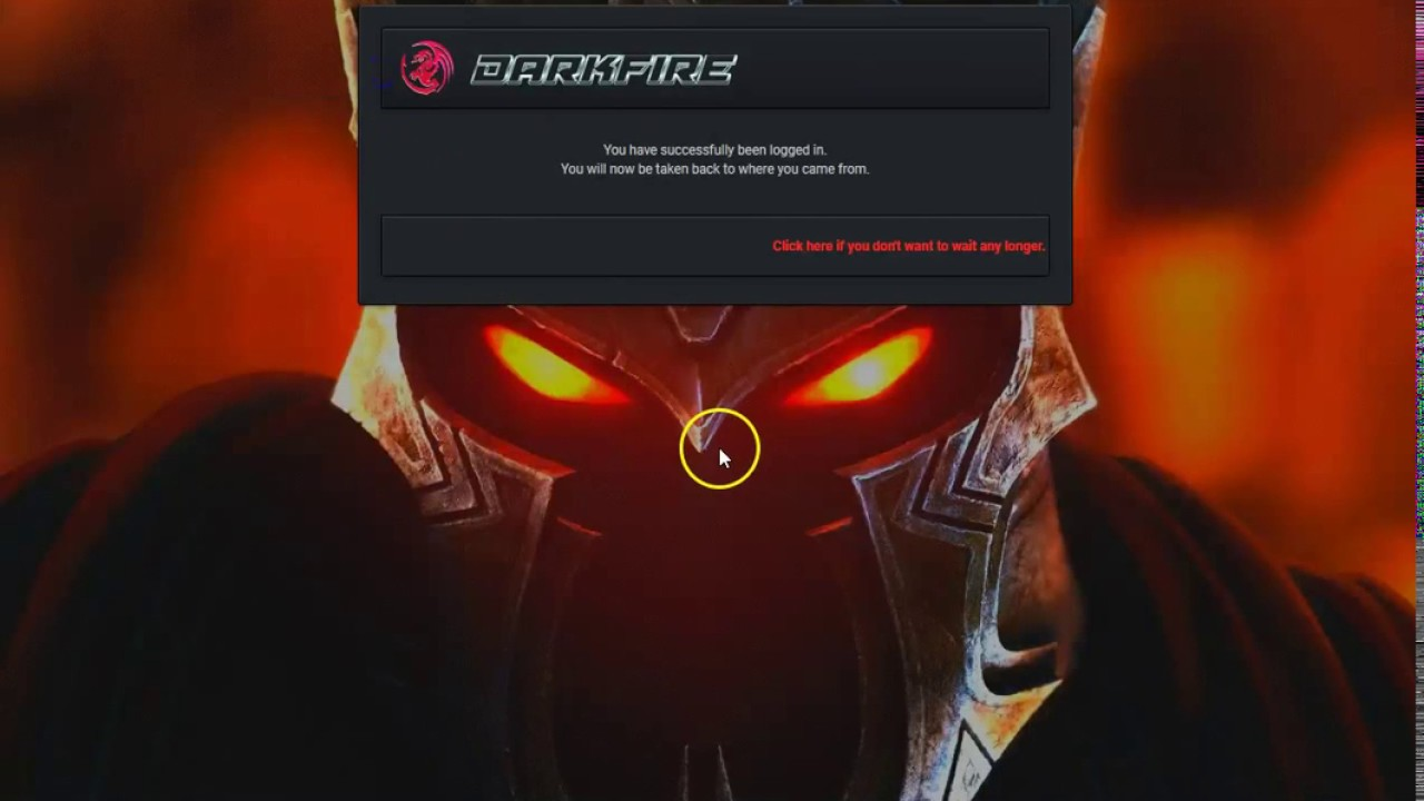 MyBB Premium Gaming Theme - Dark Fire
