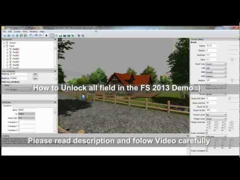 Farming Simulator 2013 Demo Unlock All Fields
