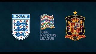 England vs Spain | UEFA Nations League 2018/19 | League A Group 4 | Simulation