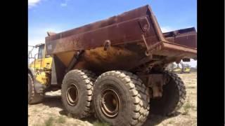 VOLVO dump truck V40E for sale from shanghai china