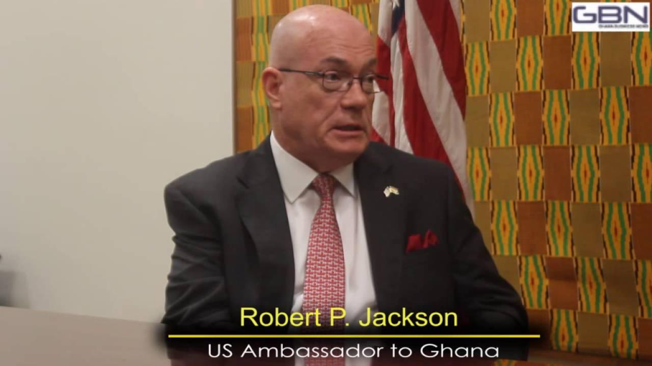Interview With Us Ambador To Ghana Robert P Jackson