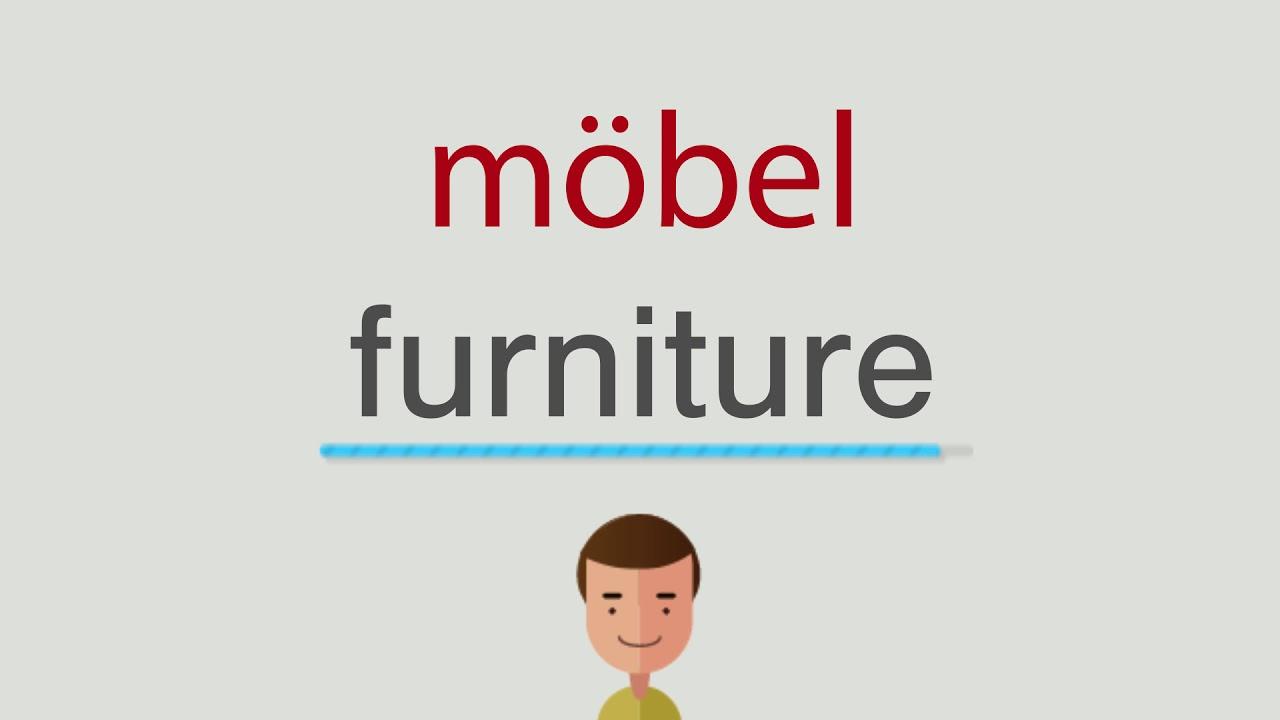 Wie Heißt Möbel Auf Englisch Youtube