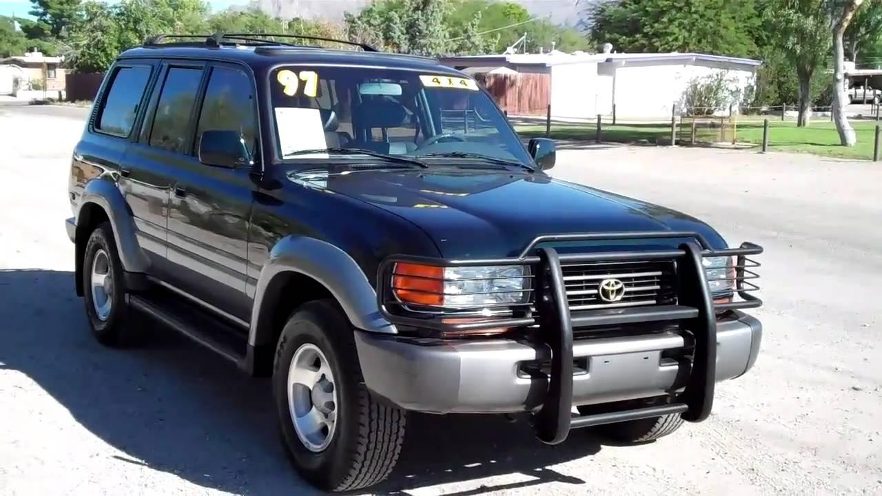 1997 Toyota Land Cruiser 4x4 Sn 18014 Cactus Auto Doovi