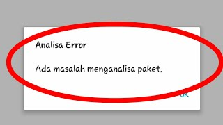 Cara memperbaiki parse error android | kesalahan parse