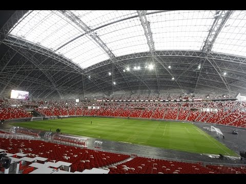 Behind the scenes tour of the new National Stadium