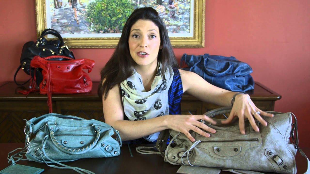 Spot A Fake Balenciaga Part Time Bag