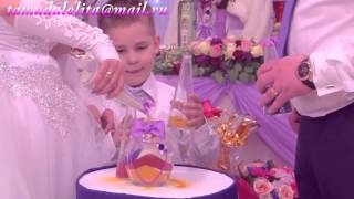 Красивая Свадебная Песочная Церемония (Александр и Татьяна)