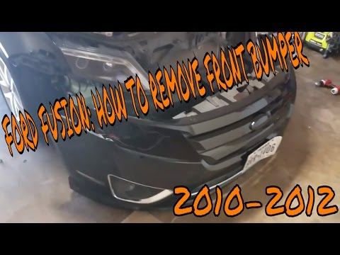 2010- 2012 Ford Fusion How to remove front bumper - Auto Parts Warehouse