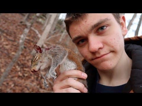 Last Squirrel Hunt Of The Season...