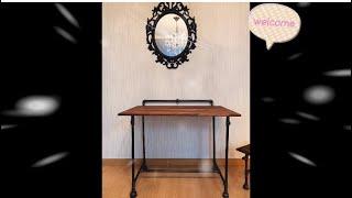 #컴퓨터테이블 만들기#원목책상#원목테이블#원목컴퓨터책상…