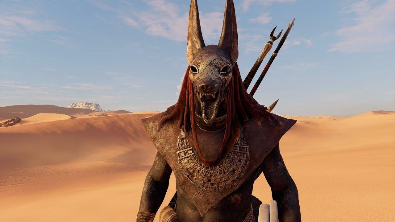 Assassinu0026#39;s Creed Origins - Anubis Outfit Showcase - Dark Side Of The Moon (AC Origins Best ...